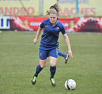 Switzerland U19 - France U19 : Léa Declercq.foto DAVID CATRY / Nikonpro.be