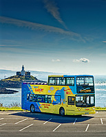 Pictured: Thursday 27 May 2021<br /> Re: Launch of the First Cymru Coaster services for Mumbles and Porthcawl.