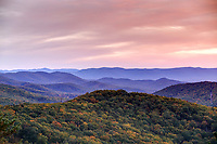 The Blue Ridge Mountains located in Shenandoah National Forest in Virginia. Photo/Andrew Shurtleff Photography, LLC