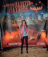 Opening Night of The Haunted Hayride