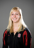 Jessica Guenther of the Stanford synchronized swimming team.