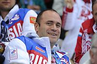 OLYMPICS: SOCHI: Medal Plaza, febr. 2014, President Russian Skating Union Alexey Kravtsov, ©photo Martin de Jong