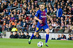 Jordi Alba Ramos of FC Barcelona in action during the UEFA Champions League 2017-18 quarter-finals (1st leg) match between FC Barcelona and AS Roma at Camp Nou on 05 April 2018 in Barcelona, Spain. Photo by Vicens Gimenez / Power Sport Images
