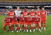 Toronto FC. Stating Eleven.    DC United tied Toronto FC. 3-3 at  RFK Stadium, Saturday May 9, 2009.