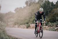 Fabio Fellini (ITA/Trek-Segafredo)<br /> <br /> Team Trek-Segafredo women's team<br /> training camp<br /> Mallorca, january 2019<br /> <br /> ©kramon