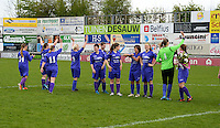 Finale Beker van West-Vlaanderen Vrouwen FC Knokke - SK Opex Girls Oostende :  SKOG oostende <br /> foto VDB / BART VANDENBROUCKE