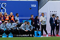 HARRISON, NJ - MARCH 08: Phil Neville of England during a game between England and Japan at Red Bull Arena on March 08, 2020 in Harrison, New Jersey.