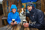 No such thing as bad weather only bad clothes pictured here at Mike Murts Bar enjoying a drink in the rain on Monday were Emily Rice and Stephen Strain with Tiki.