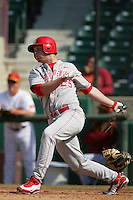 March 7 2010: Kenny Held of University of New Mexico during game against USC at Dedeaux Field in Los Angeles,CA.  Photo by Larry Goren/Four Seam Images