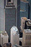 aerial photograph 235 Pine Street office tower San Francisco