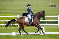 GBR-Katey Cuthbertson rides Incognito IV during the Dressage for the CCI4*-S. 2021 GBR-Barbury International Horse Trials. Wiltshire. Great Britain. Thursday 8 July. Copyright Photo: Libby Law Photography