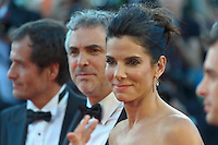 The first day at the start of the 70th Venice film festival and first Red Carpet. Venice August 28 2013. In the photo sandra bullock. Photo credit Adamo Di Loreto/BuenaVista*photo