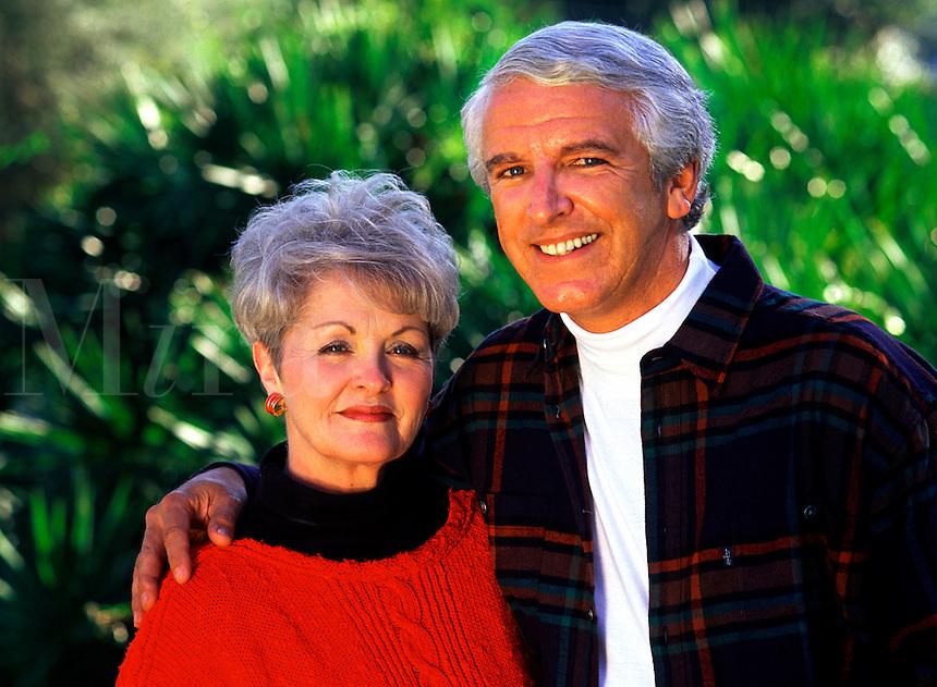 Portrait of a smiling mature couple.
