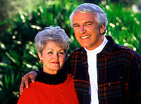 Portrait of a smiling mature couple.