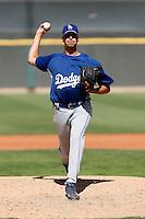 Joseph Jones - Los Angeles Dodgers - 2009 spring training.Photo by:  Bill Mitchell/Four Seam Images
