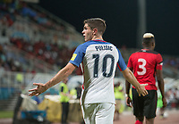 Couva, Trinidad & Tobago - Tuesday Oct. 10, 2017: Christian Puisic during a Trinidad 2-1 win over the USA at the 2018 FIFA World Cup Qualifier at Ato Boldon Stadium.