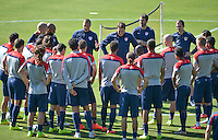 USMNT Training, Sao Paulo FC,  and travel to Recife, Tuesday, June 24, 2014