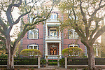 The Calhoun Mansion in Charleston, South Carolina, USA