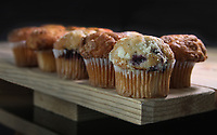 Banana & Blueberry Muffins<br /> TableTopPhotoShop.com<br /> A division of http://PHOTOlink.net<br /> Photographed by Adam Scull/PHOTOlink