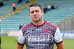 Stephen Goggin, Causeway manager before the County Senior hurling Semi-Final between St. Brendans and Causeway at Austin Stack park on Sunday.