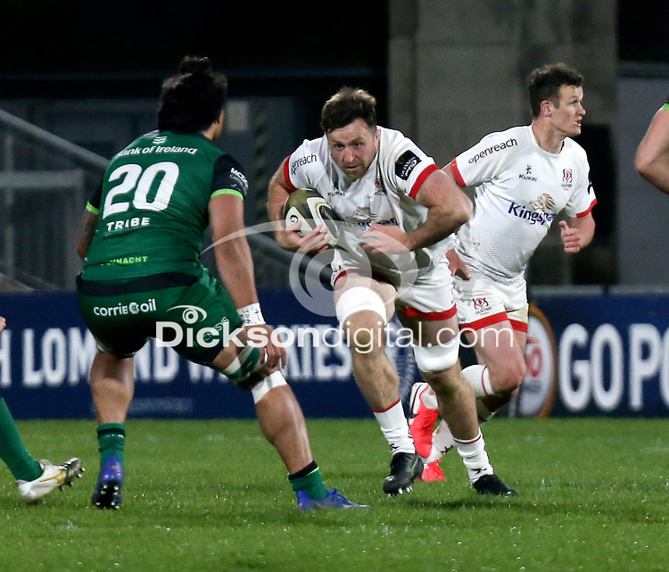 Friday 23rd April 2021; Alan O'Connor during the first round of the Guinness PRO14 Rainbow Cup between Ulster Rugby and Connacht Rugby at Kingspan Stadium, Ravenhill Park, Belfast, Northern Ireland. Photo by John Dickson/Dicksondigital