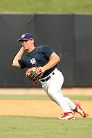 September 15, 2009:  Sean Coyle, one of many top prospects in action, taking part in the 18U National Team Trials at NC State's Doak Field in Raleigh, NC.  Photo By David Stoner / Four Seam Images