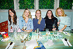 Enjoying the evening in Molly J's on Thursday, l to r: Sinead Cready, Ciara Boyd, Greta O'Grady, Mairead Crean and Georgina O'Leary.