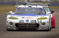 The #114 Chamberlain Dodge Viper..39th Rolex 24 at Daytona, 3/4 February,2001 Daytona International Speedway  Daytona Beach,Florida,USA.©F.Peirce Williams 2001 ..