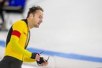 28th December 2020; Thialf Ice Stadium, Heerenveen, Netherlands; World Championship Speed Skating; 1000m menThomas Krol during the WKKT