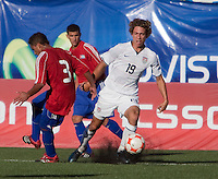 Andrew Craven dribbles the ball. The Under-17 US Men's National Team defeated Cuba 5-0 at the 2009 CONCACAF Under-17 Championship April 21, 2009 in Tijuana, Mexico.