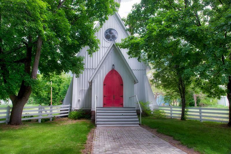 Ascension Church in Cove Oregon.