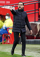 Getafe CF's coach Jose Bordalas during La Liga match. February 6,2021. (ALTERPHOTOS/Acero)<br /> Liga Spagna 2020/2021 <br /> Sevilla FC Vs Getafe <br /> Photo Acero/Alterphotos / Insidefoto <br /> ITALY ONLY