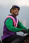 SHA TIN,HONG KONG-APRIL 26: Joao Moreira,the leading jockey in Hong Kong  at Sha Tin Racecourse on April 26,2016 in Sha Tin,New Territories,Hong Kong (Photo by Kaz Ishida/Eclipse Sportswire/Getty Images)