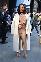 NEW YORK, NY- October 28: Adina Porter at Good Morning America promoting the new Apple Series The Morning Show on October 28, 2019 in New York City. Credit: RW/MediaPunch