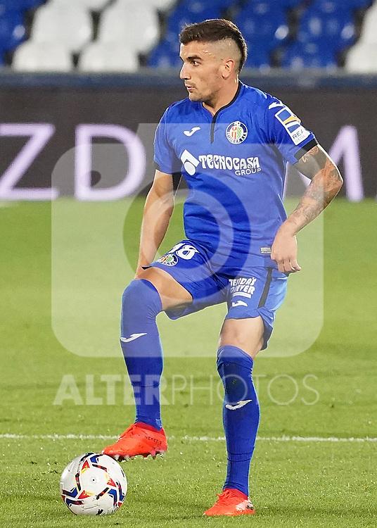 Getafe CF's Mauro Arambarri during La Liga match. September 29,2020. (ALTERPHOTOS/Acero)