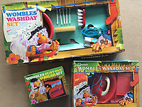 BNPS.co.uk (01202 558833)<br /> Pic: GillSeyfang/BNPS<br /> <br /> Womblestoy set from the 1970's<br /> <br /> An environmentalist is selling the world's biggest Womble collection after the famous furry creatures inspired her to save the planet as a child.<br /> <br /> Gill Seyfang, a senior lecturer in Sustainable Consumption at the University of East Anglia, owns over 1,700 items relating the furry creatures.<br /> <br /> Her vast collection ranges from soft toys to rubbish bins and was recognised by the Guinness Book of Records in 2016.<br /> <br /> Ms Seyfang, from Norwich, Norfolk, began amassing the group in the 1970s and it has continued to grow ever since.
