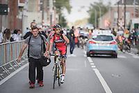 Greg Van Avermaet (BEM/BMC) post-race<br /> <br /> 2016 Primus Classic Impanis - Van Petegem (1.HC)<br /> Belgium: Brakel › Boortmeerbeek (200.4km)