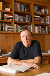 Author James Patterson photographed in his office at his Palm Beach, Florida home on January 27, 2006 for Time Magazine