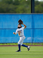 IMG Academy Ascenders Navy outfielder Evan Androvett (2) during a game against Victory Charter School on April 1, 2021 at IMG Academy in Bradenton, Florida.  (Mike Janes/Four Seam Images)