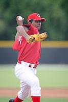 August 14, 2008: Rafael De LaRosa (30) of the GCL Reds.  Photo by: Chris Proctor/Four Seam Images