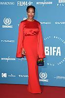 Naomie Akie<br /> arriving for the British Independent Film Awards 2018 at Old Billingsgate, London<br /> <br /> ©Ash Knotek  D3463  02/12/2018