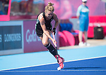 Wales Eloise Laity in action during todays event<br /> <br /> *This image must be credited to Ian Cook Sportingwales and can only be used in conjunction with this event only*<br /> <br /> 21st Commonwealth Games - Wales v Malaysia - Hockey-  Day 7 - 11\04\2018 - Gold Coast Hockey Centre - Gold Coast City - Australia
