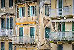 The UNESCO World Heritage Corfu Old Town in Ionian Islands, Greece
