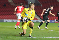 Ashley Maynard-Brewer of Charlton Athletic during Charlton Athletic vs Plymouth Argyle, Emirates FA Cup Football at The Valley on 7th November 2020