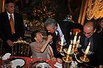 """EDVIGE SPAGNA CON FRANCESCO RUTELLI<br /> PRESENTAZIONE LIBRO """" I ROCCALTA"""" DI EDVIGE SPAGNA<br /> PALAZZO TAVERNA ROMA 2008"""