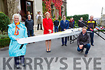 Eimer Corridan presents the Muckross Rowing club a new boat at the Cahernane House Hotel Killarney on Sunday front l-r: Kathleen Murphy, Eimer Corridan, David O'Brien, Sean DAly Chairman MRC and Sean Daly