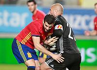 Spain's Nacho Fernandez (l) and Pepe Reina during international friendly match. June 7,2017.(ALTERPHOTOS/Acero) (NortePhoto.com) (NortePhoto.com)