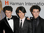 Nick Jonas,Joe Jonas & Kevin Jonas at The Clive Davis / Recording Academy Annual Pre- Grammy Party held at The Beverly Hilton Hotel in Beverly Hills, California on February 07,2009                                                                     Copyright 2009 Debbie VanStory/RockinExposures