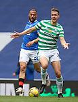 02.05.2121 Rangers v Celtic: Kris Ajer and Kemar Roofe