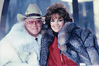 Larry Hagman Linda Gray, Thanksgiving Day Parade 1984<br /> Photo by Adam Scull/PHOTOlink